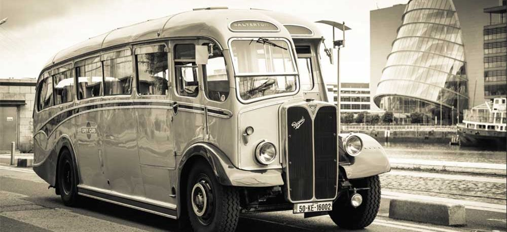 1960's Regal Coach in black & white